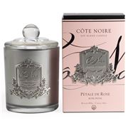Cote Noire - Rose Petal Silver Candle 450g
