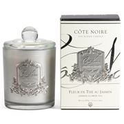 Cote Noire - Jasmine Flower Tea Silver Candle 450g