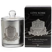 Cote Noire - French Morning Tea Silver Candle 450g