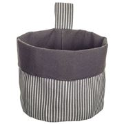 Ogilvies Designs - Chef Laundry Hanging Storage Basket Grey