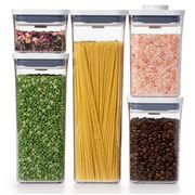 OXO - Good Grips POP 2.0 Storage Container Set 5pce