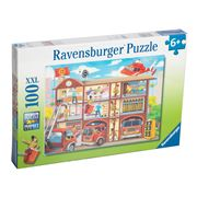 Ravensburger - Firehouse Frenzy Puzzle 100pce