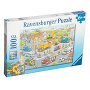 Ravensburger - Vehicles In The City Puzzle 100pce