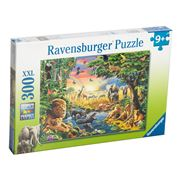 Ravensburger - Evening At The Water Hole Puzzle 300pce