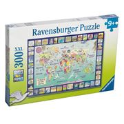 Ravensburger - Looking At The World Puzzle 300pce