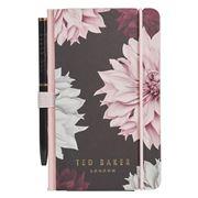 Ted Baker - Clove Mini Notebook & Pen Black