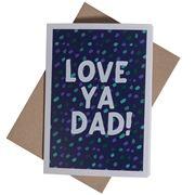 Candle Bark - Love Ya Dad! Card