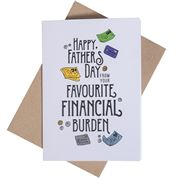 Candle Bark - Financial Burden Card