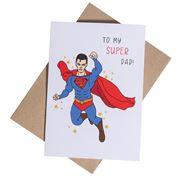 Candle Bark - My Super Man Dad Card