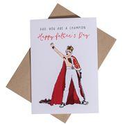 Candle Bark - Freddie Mercury Dad Card
