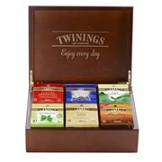 Twinings - 6 Compartment Tea Chest