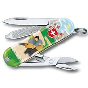 Victorinox - Classic Ltd Ed Swiss Army Knife Swiss Wrestling