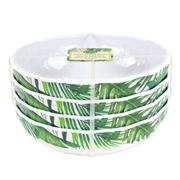Michel Design - Palm Breeze Melamine Cereal Bowl Set 4pce