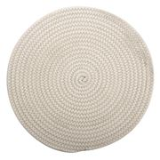 Ladelle - Oliver Green Round Rope Placemat 35cm