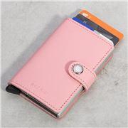 Secrid - Crisple Pink Leather Mini Wallet