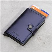 Secrid - Metallic Blue Mini Wallet
