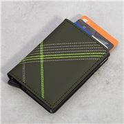 Secrid - Stitch Linea Lime Slim Wallet