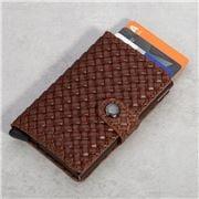 Secrid - Basket Brown Slim Wallet