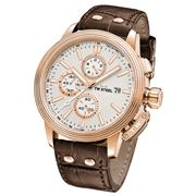 TW Steel - CEO Adesso CE7013  Chro. Brown Leather Strap 45mm
