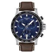 Tissot - T-Sport Supersport Chrono Blue & Brown Watch 45.5mm