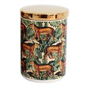 Luxe By Peter's - Tiger Safari Canister 15cm