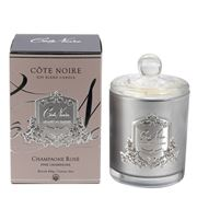 Cote Noire - Pink Champagne Silver Candle 450g