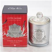 Cote Noire - Cognac & Tobacco Silver Candle 450g