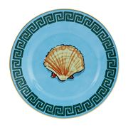Richard Ginori - Luke Edward Hall Shell B/Plate S/Blue 16cm