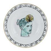 Richard Ginori - Luke Edward Hall Crown Soup Plate Wht 24cm
