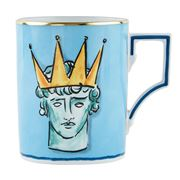 Richard Ginori - Luke Edward Hall Crown Mug Sea Blue