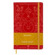 Moleskine - L.E. Large Ruled Graphic Notebook Year of The OX