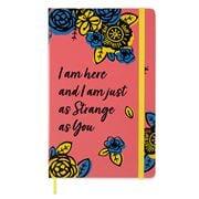 Moleskine - Ltd Ed. Frida Kahlo I Am Here Plain Notebook