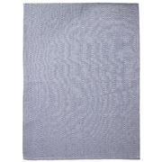 Carnival - Tea Towel Blue/White Sandblast