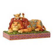 Disney - Simba & Mufasa Father & Son Figurine