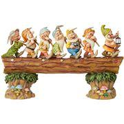 Disney - Seven Dwarfs on Log Masterpiece Musical