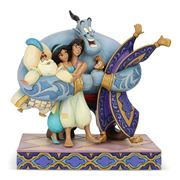 Disney - Aladdin Group Hug Figurine