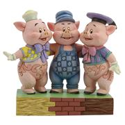 Disney - Three Little Pigs Figurine