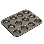 Bakemaster - 12 Cup Muffin Pan