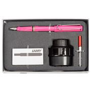 Lamy - Safari Fountain Pen Gift Pack Pink