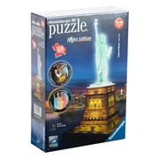Ravensburger - Statue of Liberty at Night 3D Puzzle