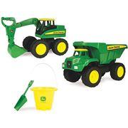 John Deere - Big Scoop Dump Truck & Excavator Pack