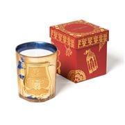Cire Trudon - Fir Gold Leaf Sapphire Blue Candle 270g