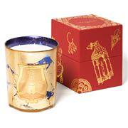 Cire Trudon - Fir Gold Leaf Sapphire Blue Candle 3kg