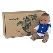 Miniland - Latin American Boy Doll & Outfit 32cm