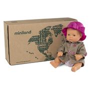 Miniland - Caucasian Girl Doll & Outfit 32cm