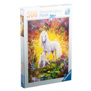 Ravensburger - Unicorn and Foal Puzzle 500pce