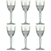 RCR Crystal - Brillante Red Wine Glass Set 290ml 6pce