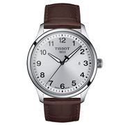 Tissot - Gent XL Classic S/Steel w/Brown Leather Watch 42mm