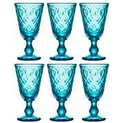 La Rochere - Lyonnais Wine Glass Set  Azure Blue 6pce