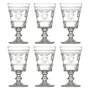 La Rochere - Versailles Stemmed Glass Set 6pce